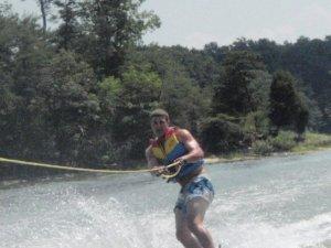J wakeboarding